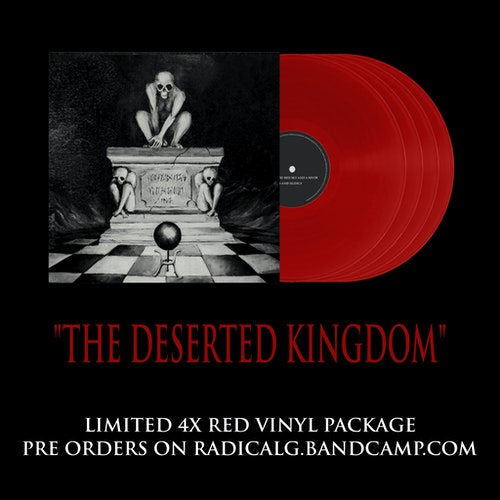 The Deserted Kingdom red vinyl