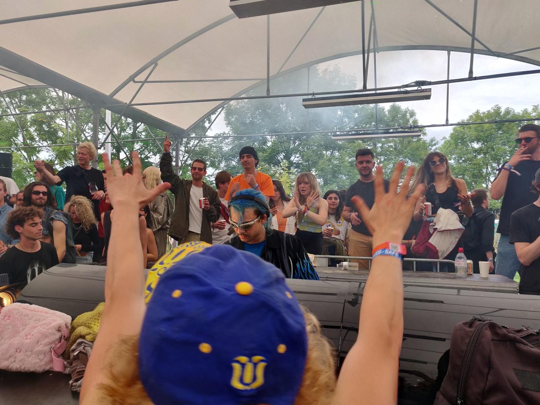 cherry b onder de Unglued stage op de tweede dag van Horst Festival 2021