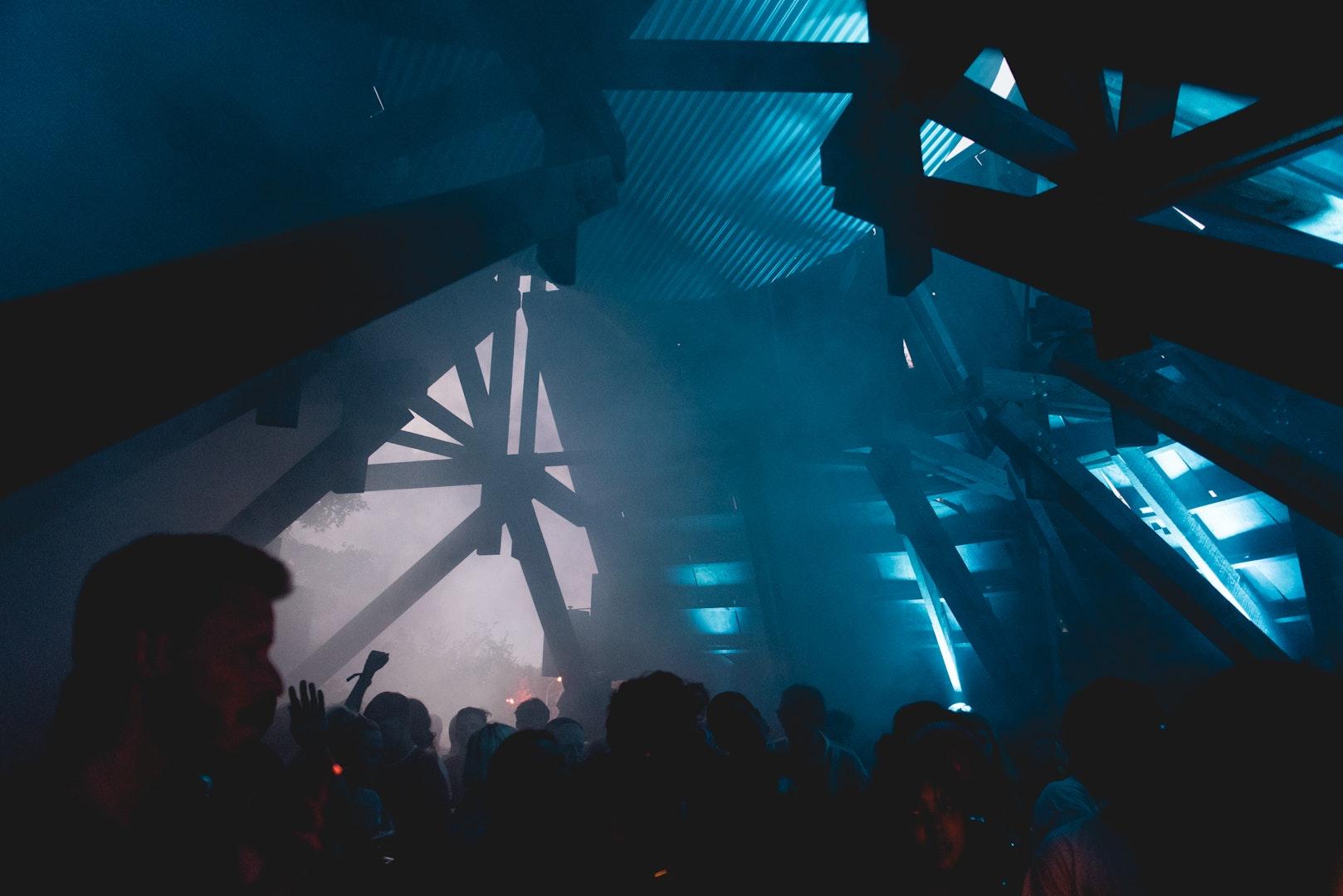 Foto van de Moon Ra stage op dag 1 van Horst Festival 2021
