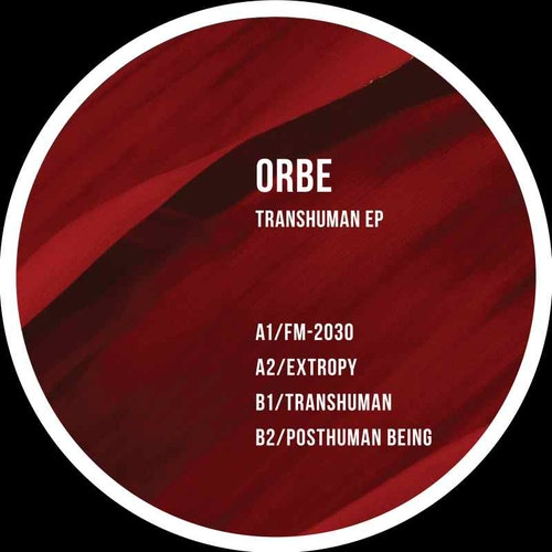 Cover art ORBE Transhuman EP